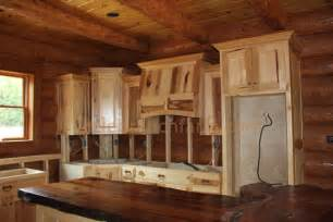 Knotty Hickory Kitchen Cabinets knotty hickory kitchen cabinets rustic kitchen cabinets