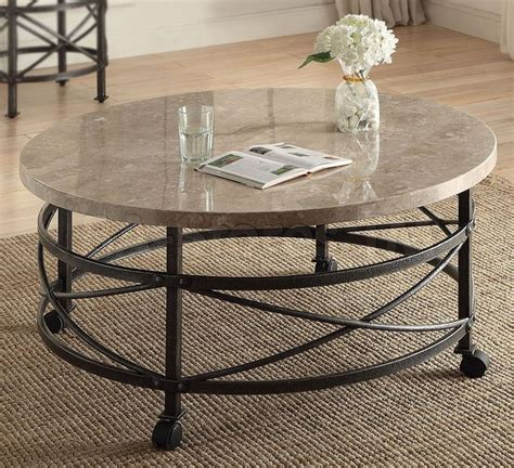 marble and metal coffee table tikamoon marble and metal coffee table with design