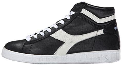 Sale Diadora Badminton Original diadora s l high waxed court shoe black white 9 5 m us apparel accessories shoes