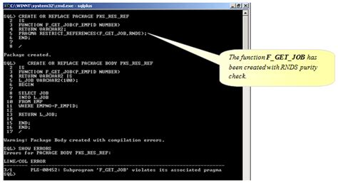 oracle tutorial point how to write autonomous transaction in plsql package
