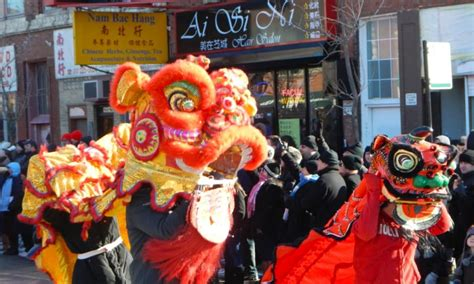 new year parade in chicago chicago chinatown new year parade