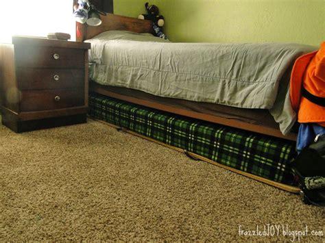 diy trundle bed diy trundle bed frazzled joy