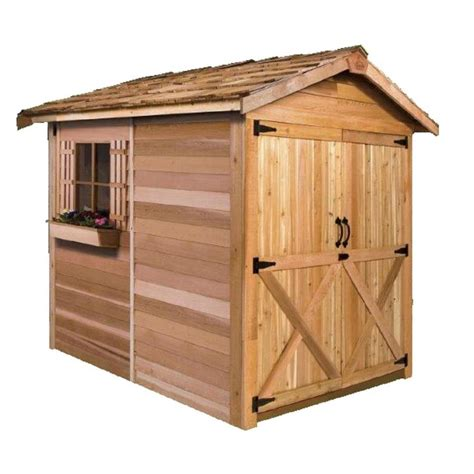 5 X 6 Storage Shed by Shop Cedarshed Common 6 Ft X 9 Ft Interior Dimensions