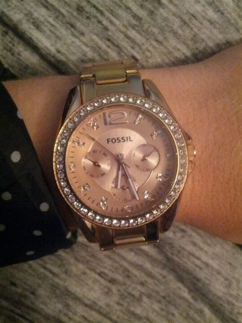 Fossil Kulit Rosegold gold fossil watches in watches and