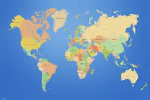 country on world map map of world countries hd world map