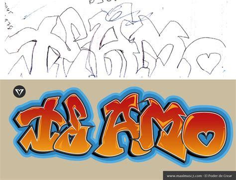 imagenes i love you graffiti m 225 s de 25 ideas incre 237 bles sobre graffitis te amo en