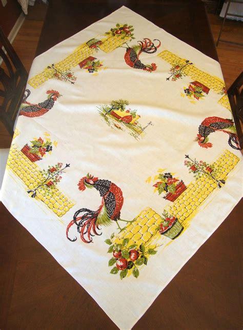 Vintage Kitchen Tablecloths by Best 25 Kitchen Tablecloths Ideas On Vintage