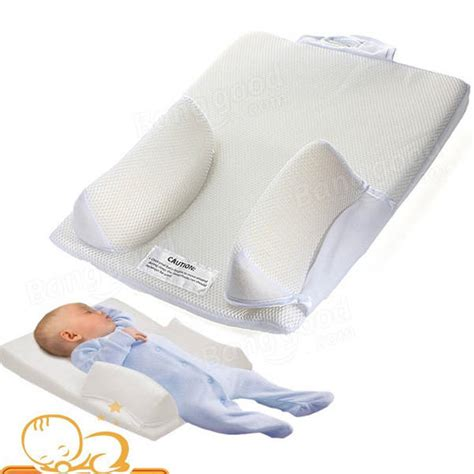 pillows for babies in the crib baby sleep positioner pillow anti roll sleeping mat safe