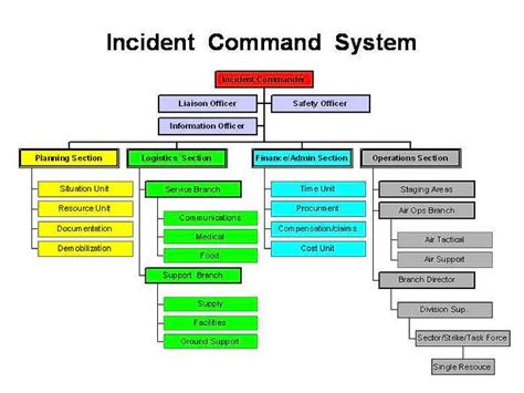 incident command top exercises funky ics organizational chart pattern best resume