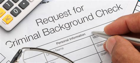 How To Check What Is On Your Criminal Record Types Of Background Checks Backgroundcheck Org