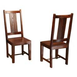 Solid Wood Dining Chairs Sheesham Solid Wood Dining Chair With Splat Back