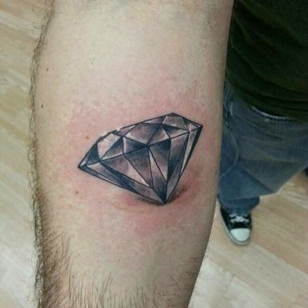 diamond tattoo for men 15 cool design ideas for and