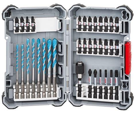Bosch Screwdriver Set bosch screwdriver bit set 2608577147 best tool gifts for