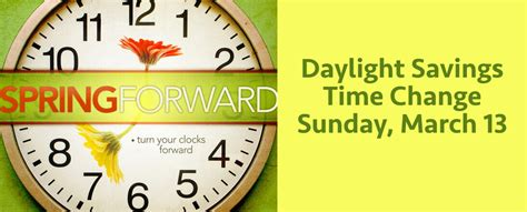 Early Daylight Savings Changes by Time Change Medina Baptist Church