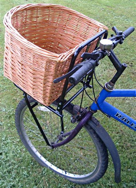 bike baskets for dogs david hembrow basketmaker wicker willow bicycle baskets