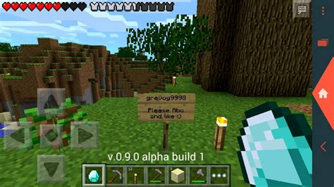 minecraf pe apk minecraft pe 0 8 0 alpha build 6 apk