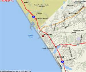 oceanside california maps