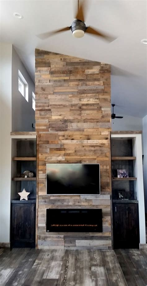 kaminofen ummauern 261 best images about reclaimed wood walls on