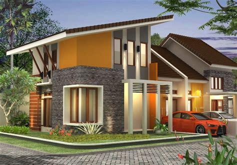 foto desain atap rumah minimalis 32 trend model rumah dengan atap miring modern 2018