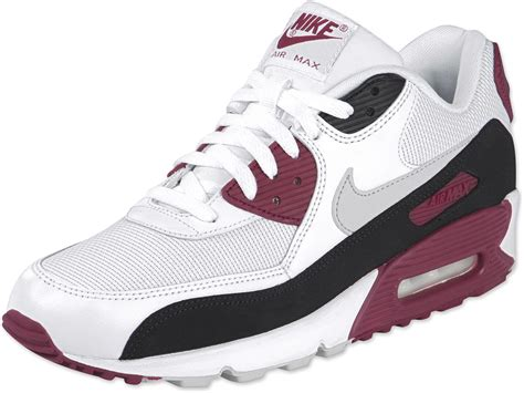 nike air max shoes nike air max 90 le shoes white black maroon