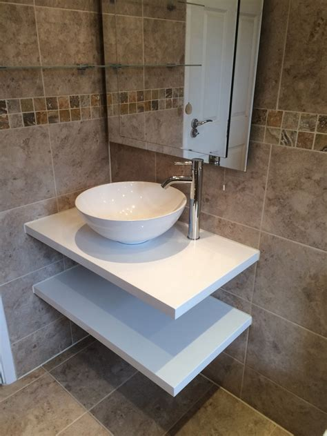 how to install a bathroom basin how to install a wall hung basin befon for