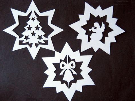 fensterbilder weihnachten schablone bastelbotta