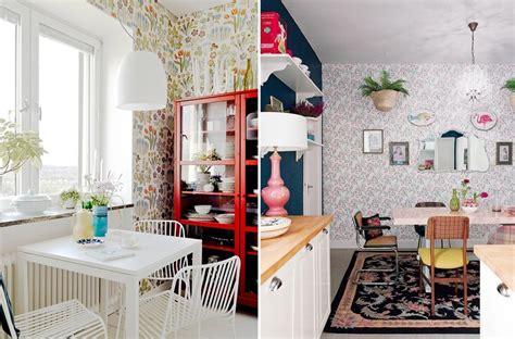 papel vinilico cocina 191 miedo a pintar tu cocina atr 233 vete con el papel pintado