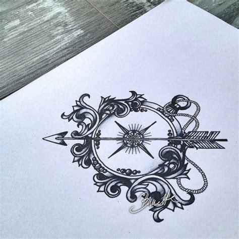 tattoo compass tumblr arrow compass tattoo tumblr
