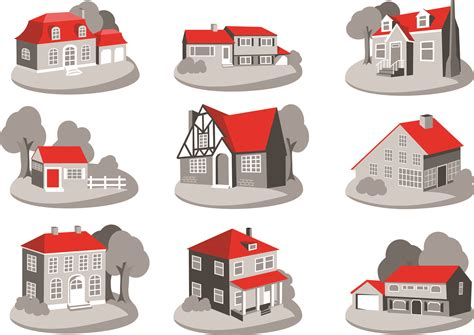home design vector free download free vector house clipart best