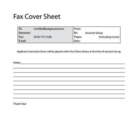 100 email cover sheet template counter job offer