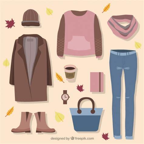 imagenes de ropa otoño conjunto de ropa y accesorios para el oto 241 o descargar