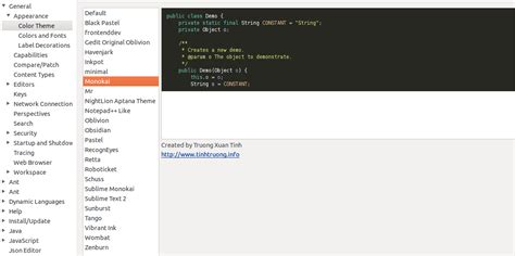 eclipse theme comment color convertir eclipse en un buen ide para programar con
