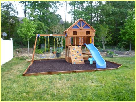 diy backyard playground home design ideas