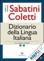 libreria coletti catalogo sabatini coletti dizionario della lingua italiana cd