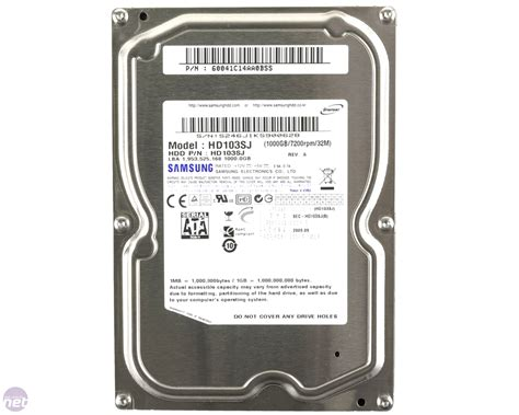 Harddisk Samsung 1tb Samsung Spinpoint F3 1tb Review Bit Tech Net
