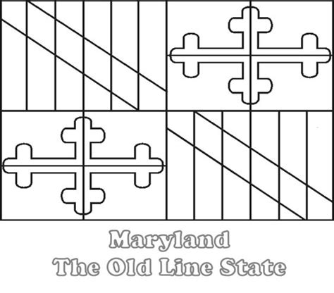 Maryland Federal Search Md State Flag Crafts On