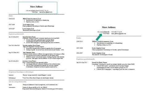 Resume For A Job Fair by Comment Faire Un Cv Guide Complet
