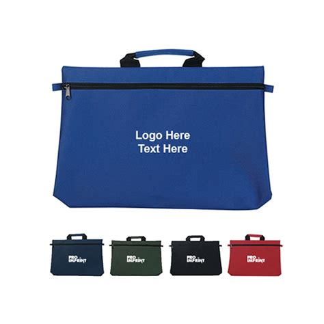 Customized Bags customized imprinted document bags messenger bags