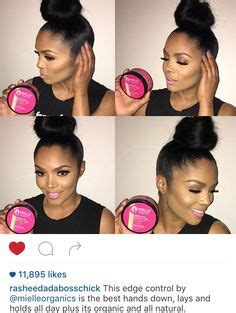 sew in edge control hairstyles 1000 ideas about edge control on pinterest natural hair