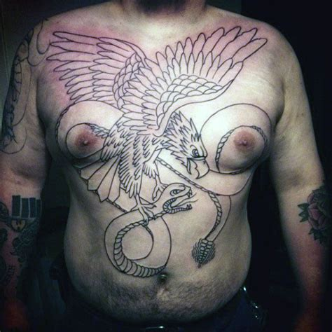 chest tattoo reaction 60 rattlesnake tattoo designs for men manly ink ideas