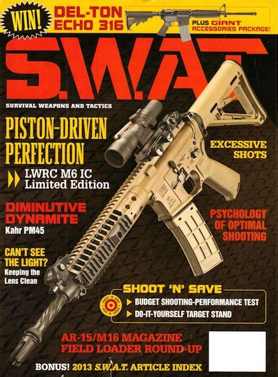 Swat Magazine Sweepstakes - swat magazine january 2014 171