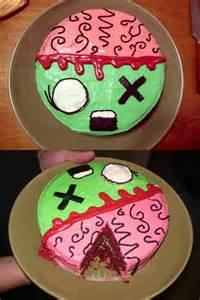 Cake Decorating Ideas Zombies Cake Sweet Themes Bakery