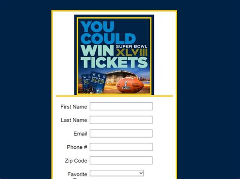Nfl Super Bowl Sweepstakes - nfl ticket exchange super bowl xlviii sweepstakes sweepstakes fanatics