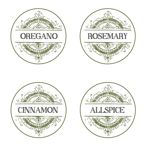 printable herb labels filthymuggle com free printable spice labels decorating