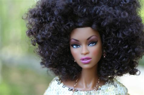 black doll pictures hair in gives black dolls a