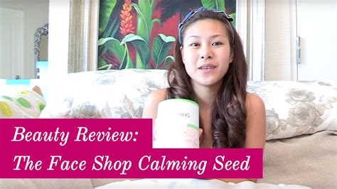 Harga The Shop Calming Seed review the shop calming seed