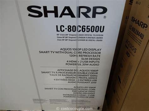 80 Inch Tv Costco by Sharp 80 Inch Led Tv Model Lc 80c6500u