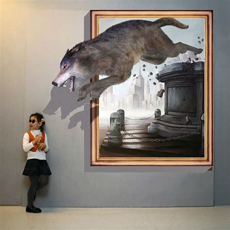 Popular 3d Illusion Paintings Buy Cheap 3d Illusion