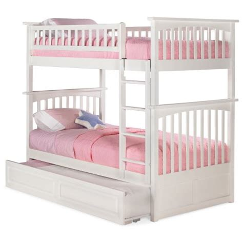 Walmart White Bunk Beds Atlantic Furniture Columbia Bunk Bed With Trundle Walmart