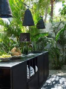Tropical Outdoor Kitchen Designs Kitchens Lighting And Design Home Decorating Community Ls Plus